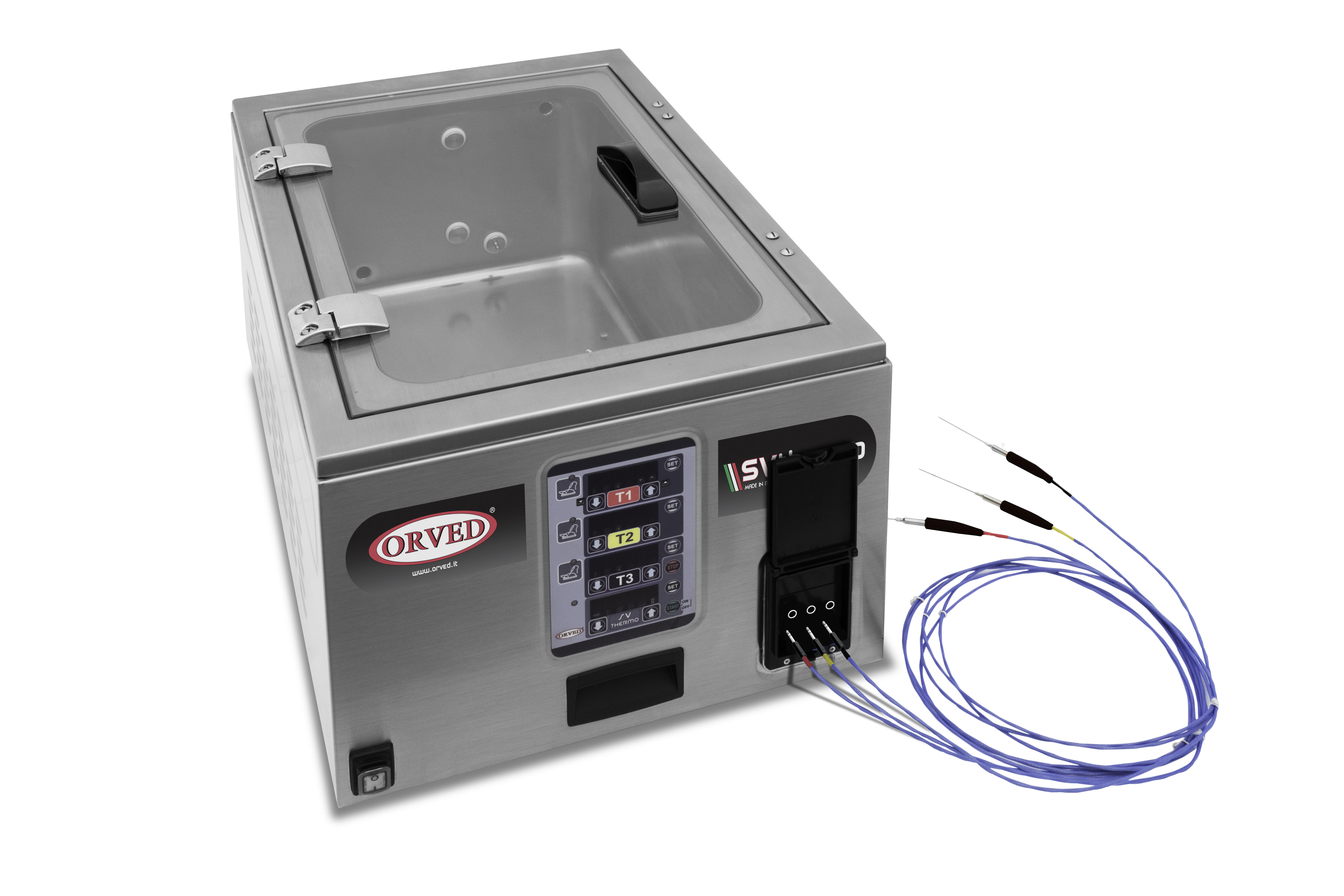 Orveds Innovative Sous Vide Cooking System Products Cooked Slowly Wiring Svthermo Chiuso Sonde