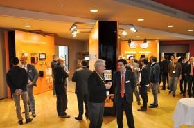Momenti di networking in un'area espositiva di oltre 150 mq.