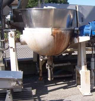 Bacinella in acciaio inox lt.450